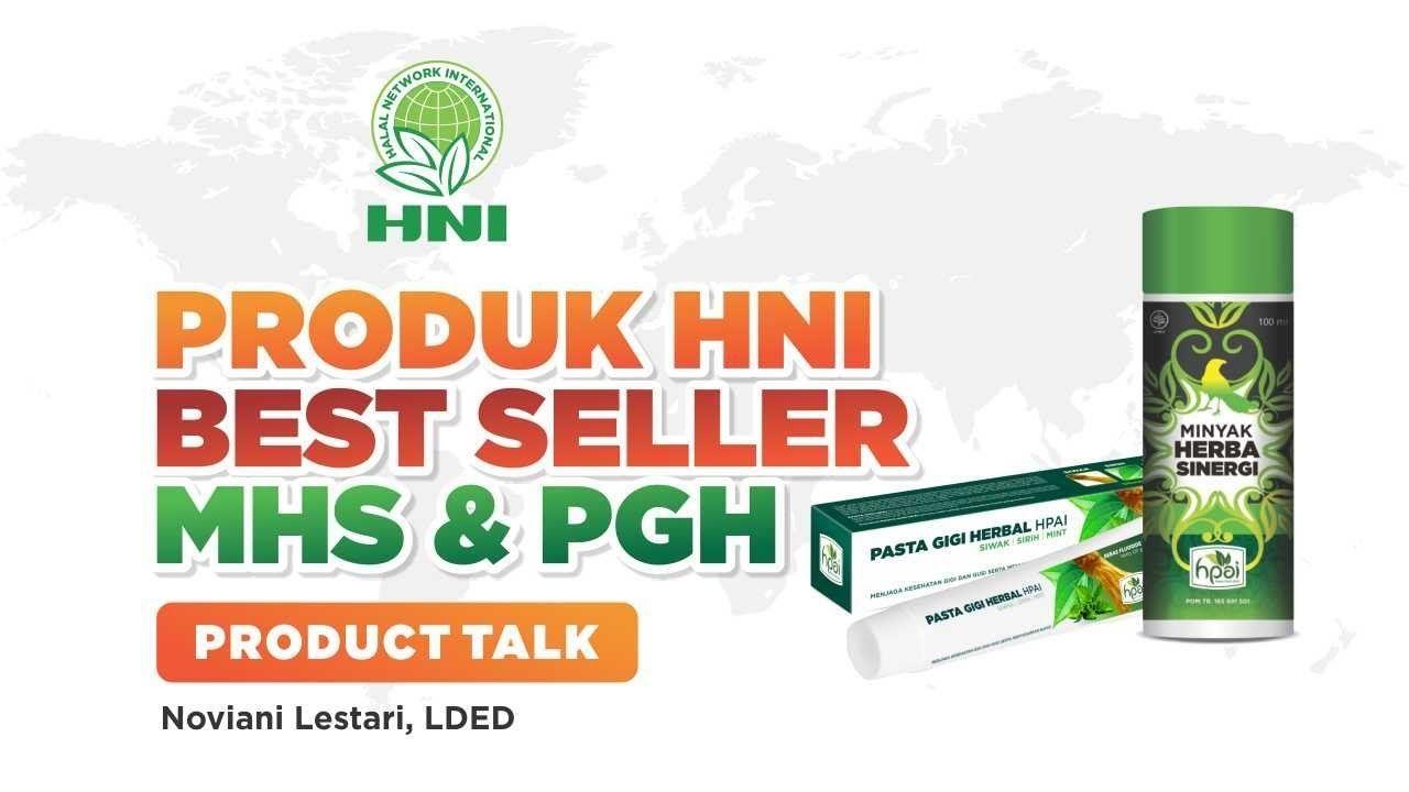 Product Talk Hni Hpai Produk Best Seller Minyak Herba Sinergi Dan Past Herba
