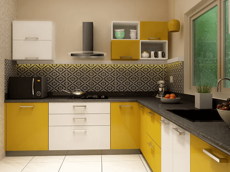 Pros And Cons Of Small Kitchen To Maximize Your Kitchen Small Kitchen Guides L Shaped Modular Kitchen Kitchen Modular L Shaped Kitchen Designs