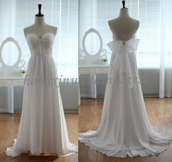 Custom Sweetheart  Wedding by hongxinweddingdress on Etsy, $128.00