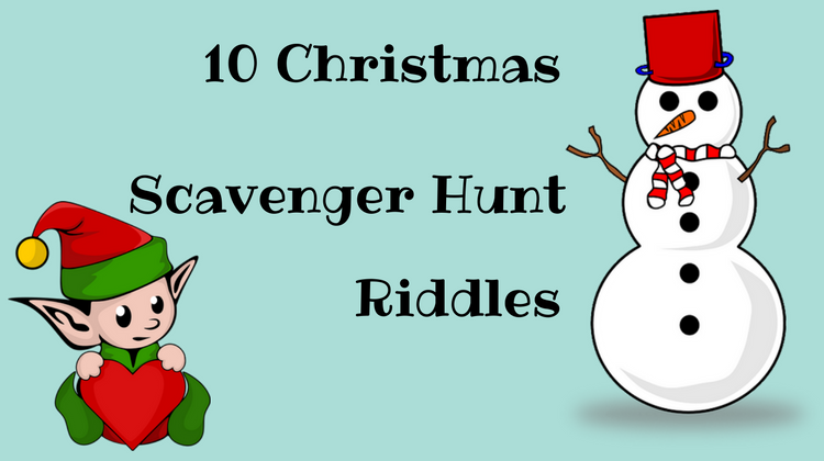 If you're looking for Christmas scavenger hunt riddles