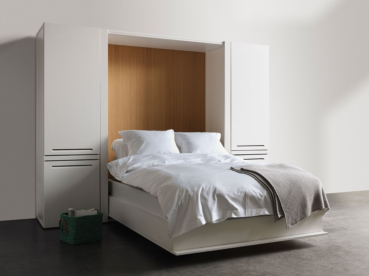this bed cabinet is designed by swedish asante arkitekter and we