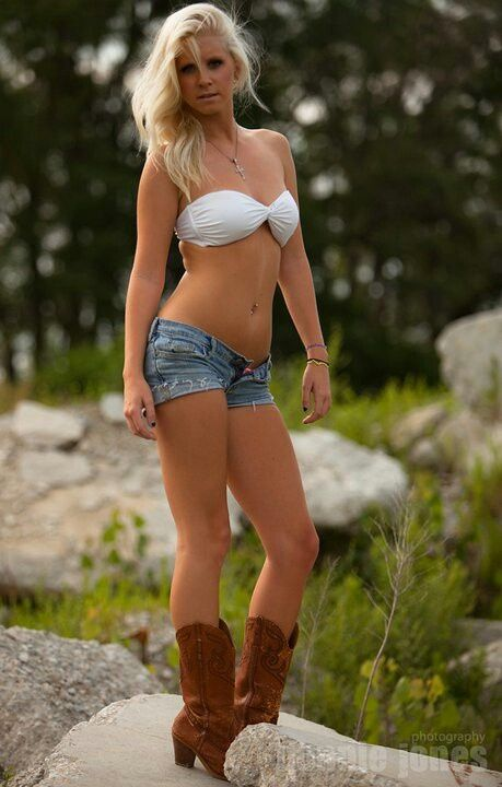 cowgirls cut off shorts naked