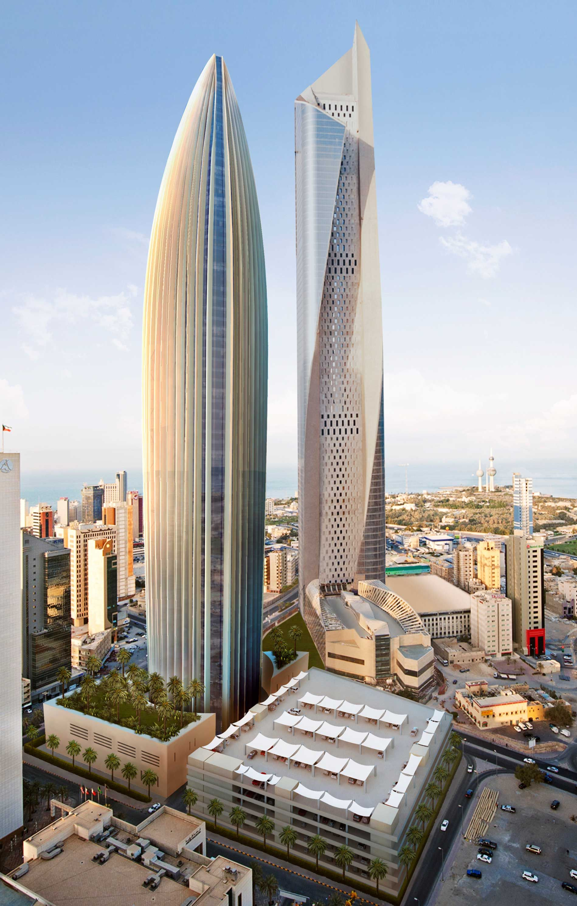 National Bank Of Kuwait, Kuwait City, 300 m, Under Construction | Foster + Partners