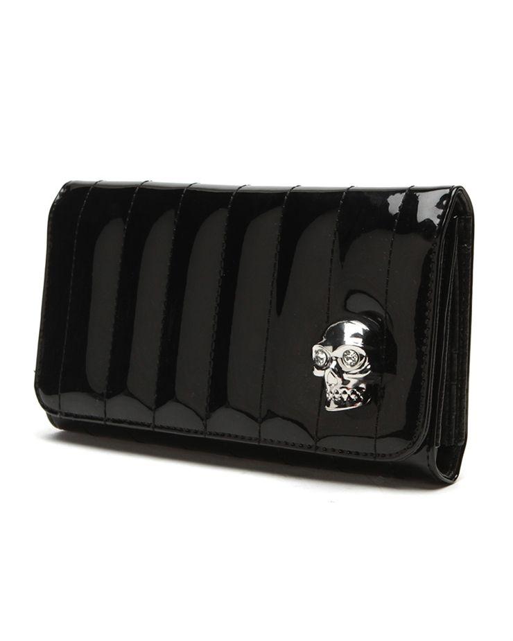Lady Vamp Wallet Black