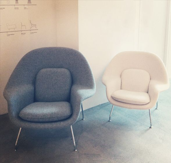 knoll celebrating 75 years pinterest womb chair showroom and
