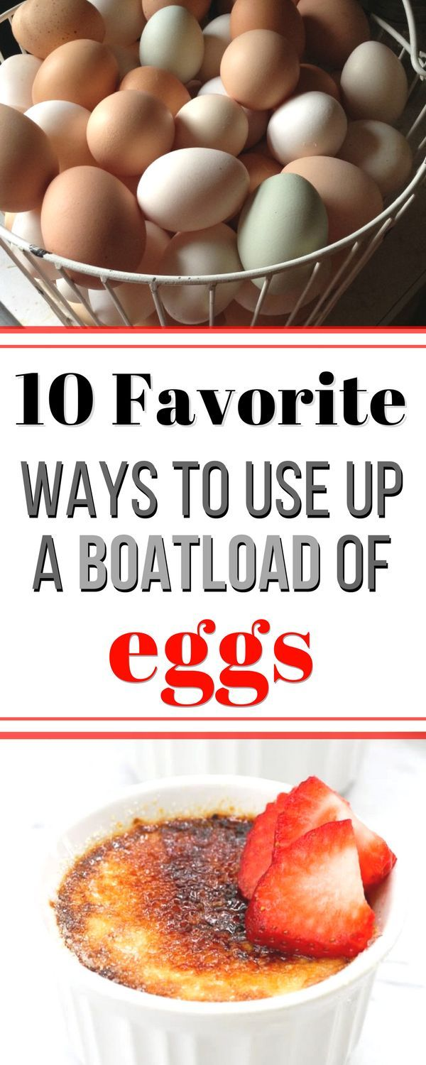 Recipes That Use A Lot Of Eggs / Desserts With Lots Of ...