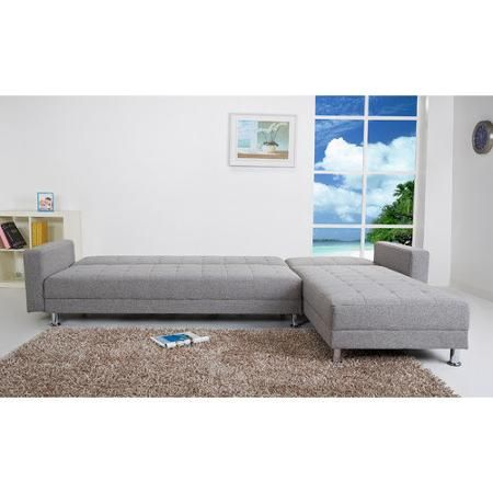Gold Sparrow Frankfort Convertible Sectional Sofa Bed $840 includes
