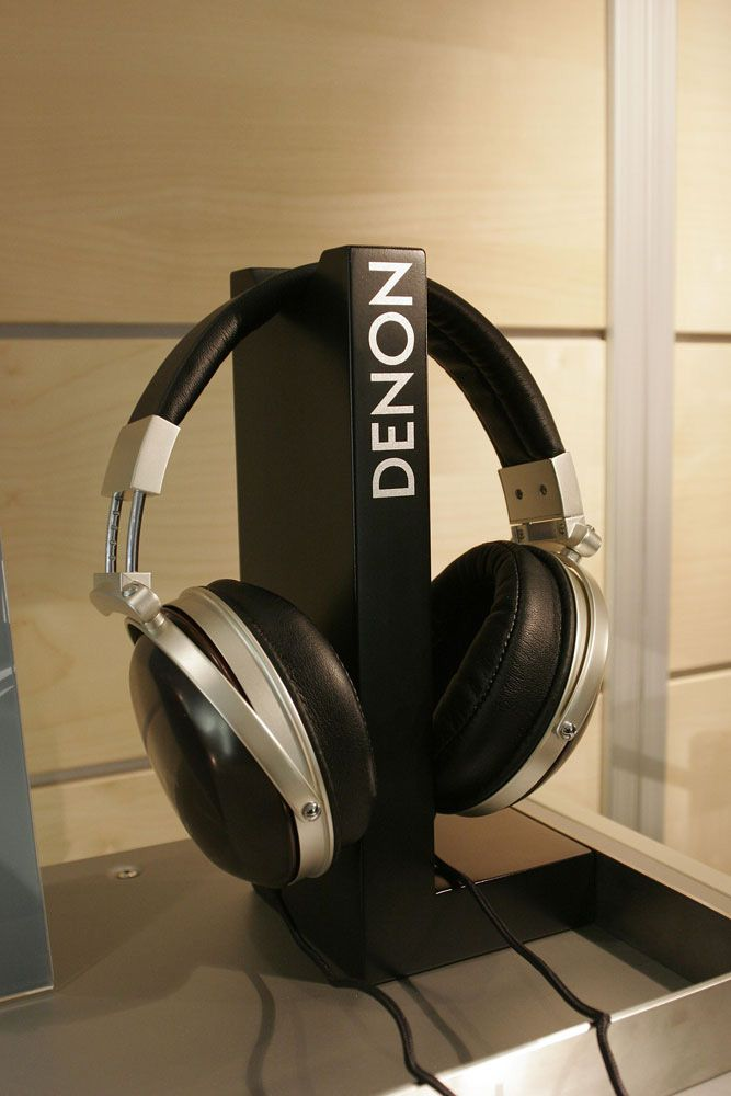 Simple Exhibition Stand Here Alone : Denon headphone stand stands diy