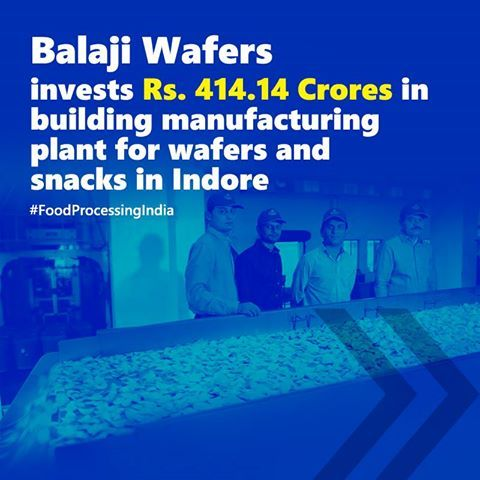 balaji wafers based in rajkot gujarat manufactures and distributes potato chips and other