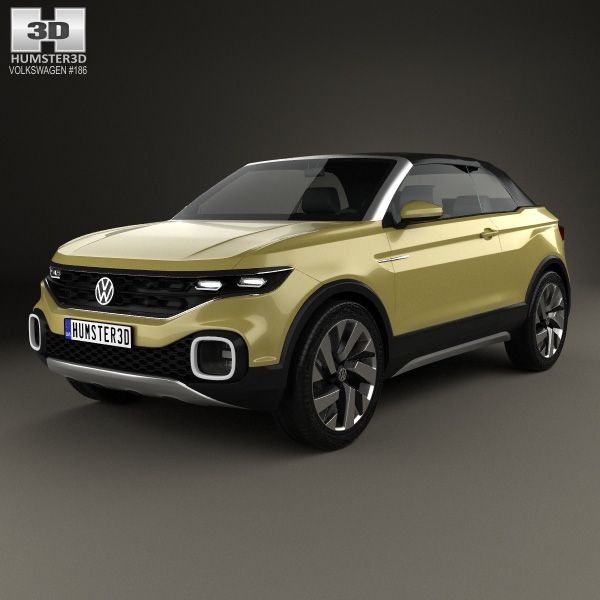Volkswagen T Cross Breeze Concept 2016 3d model from Humster3D