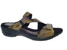 1803 Footwear Arriba - Olive Mini Boa