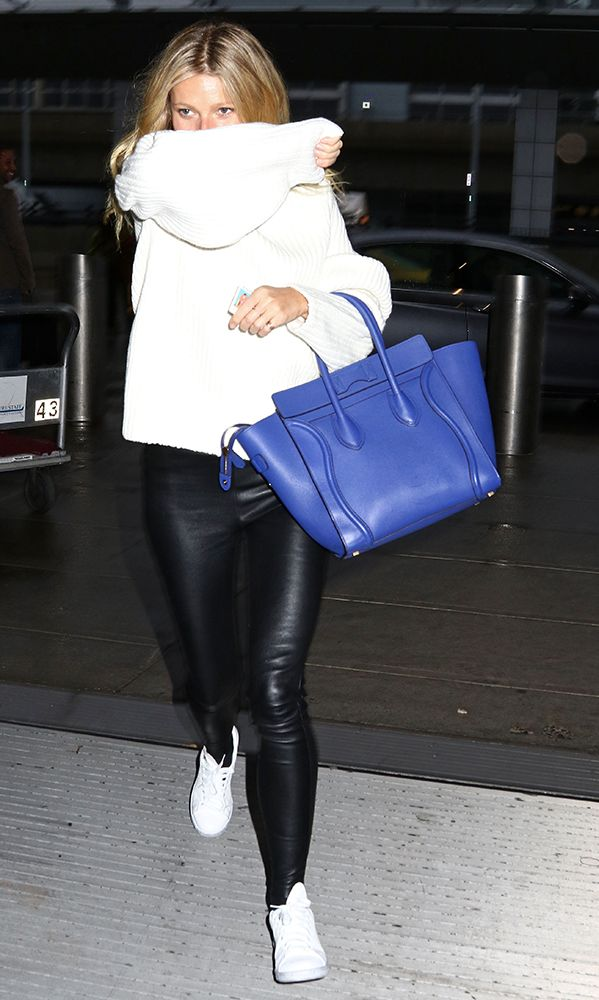 Just Can t Get Enough  Gwyneth Paltrow and Her Céline Luggage Tote ... 1ccb9dea4b
