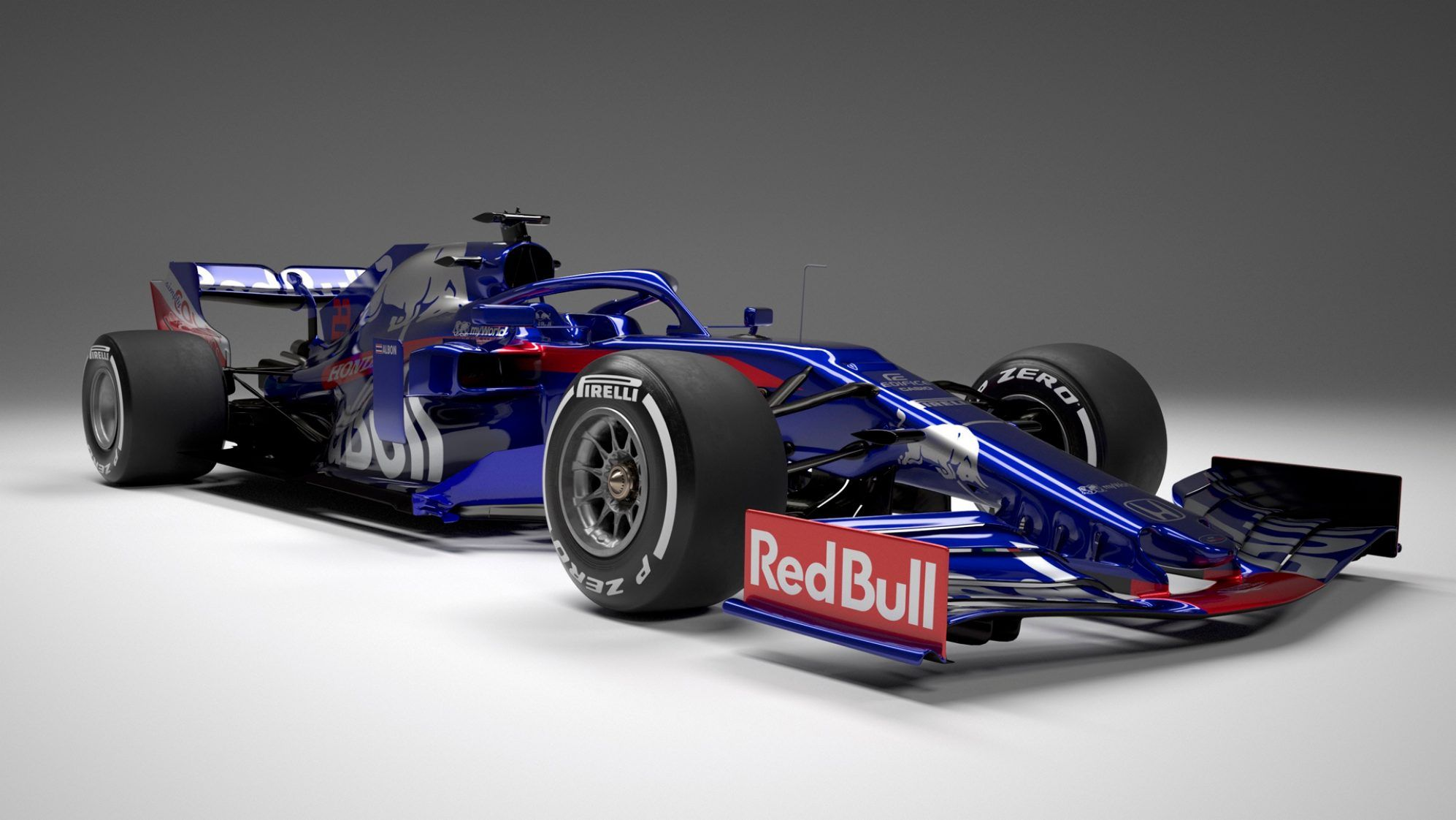Toro Rosso Str14 All The Angles Of The 2019 F1 Car Formula 1 Formula 1 Car Toro Rosso Formula One