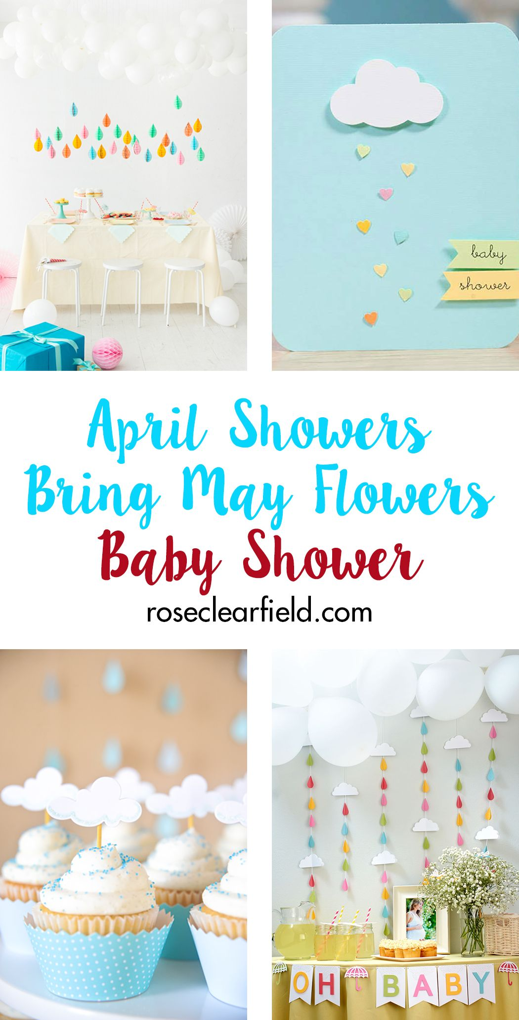 April Showers Bring May Flowers Baby Shower