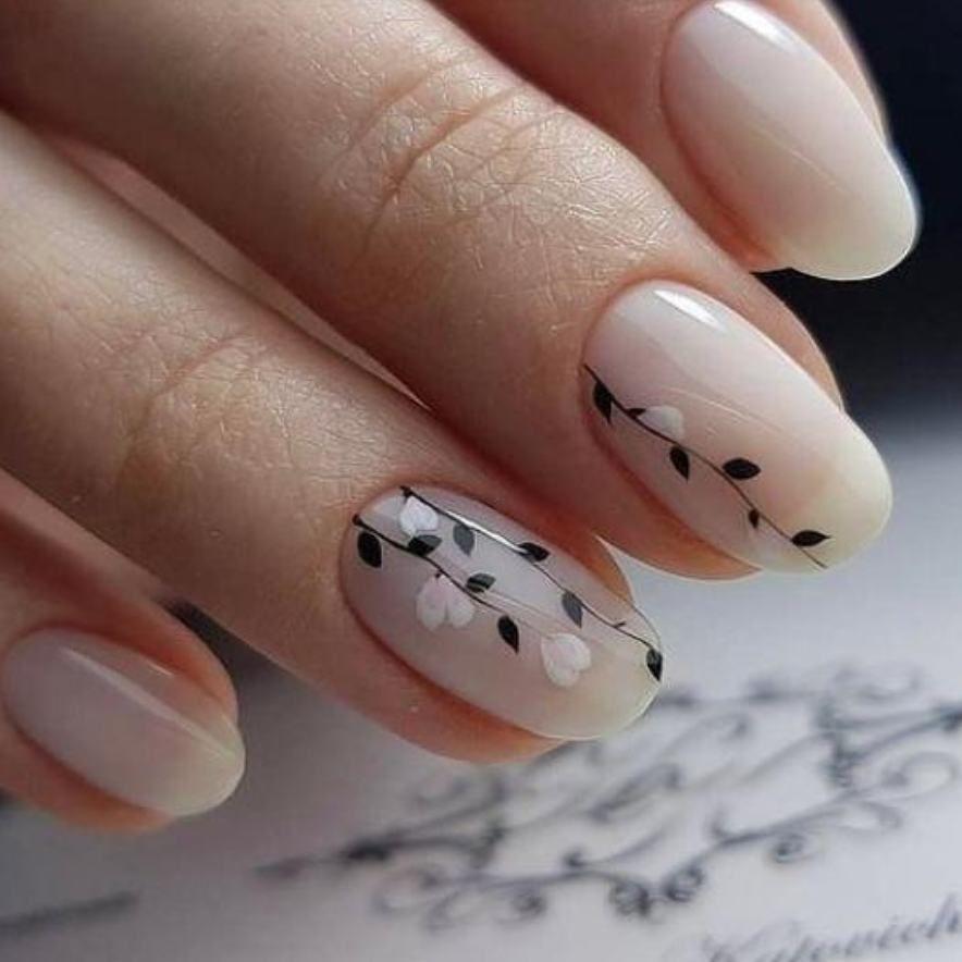 Pin by Maira Bueno on Nails   Pinterest   Long natural nails and ...