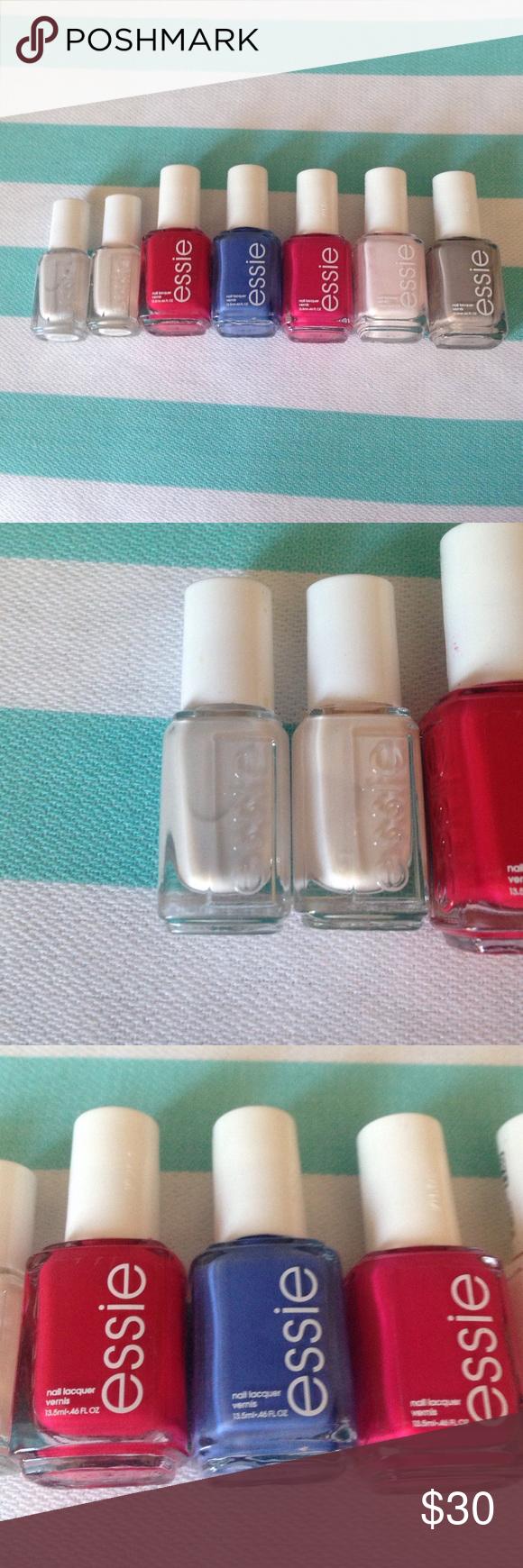 Essie nail polish bundle   Essie nail polish, Small bottles and ...