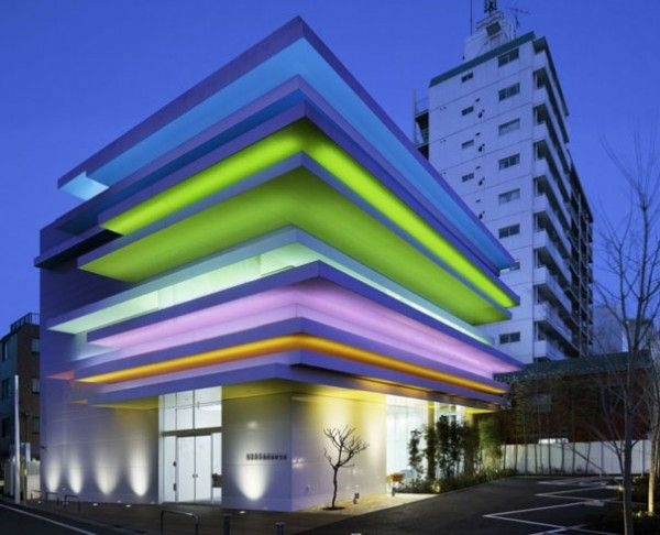 Colors and Light Infusion for a Bank Design by Emmanuelle Moureaux