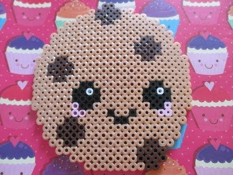 cute perler bead patterns food - Google Search | Shopkins