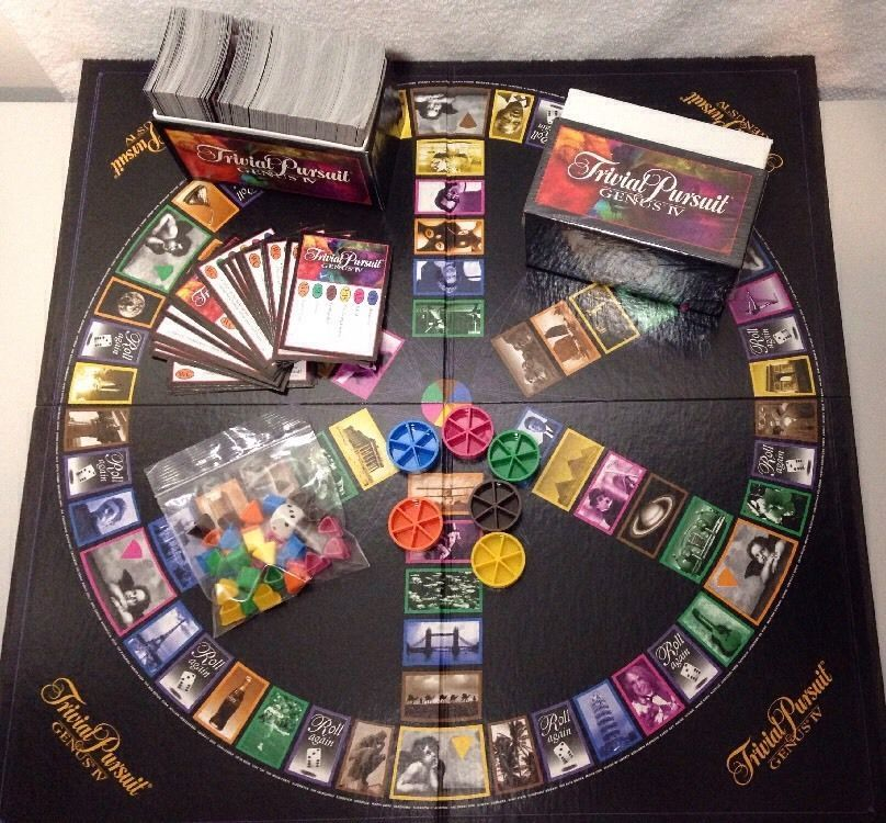Trivial Pursuit Genus IV Edition Board Game Parker