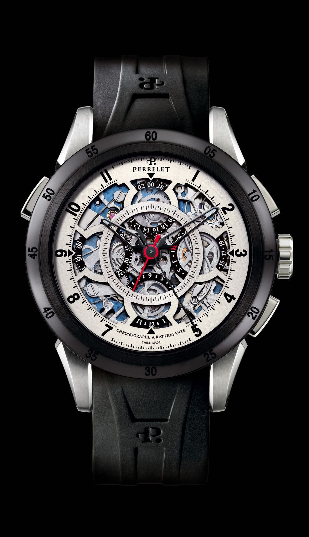 Perrelet A1043/1 splitseconds chronograph watch