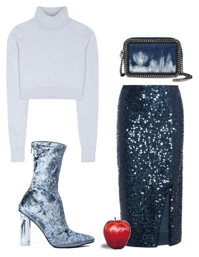 """Untitled #2489"" by applelula ❤ liked on Polyvore featuring By Malene Birger, Balmain and STELLA McCARTNEY"