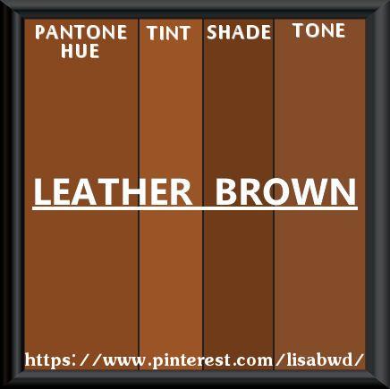 Pantone Seasonal Color Swatch Leather Brown Thesaurus Wheels And Information Pinterest Season Colors