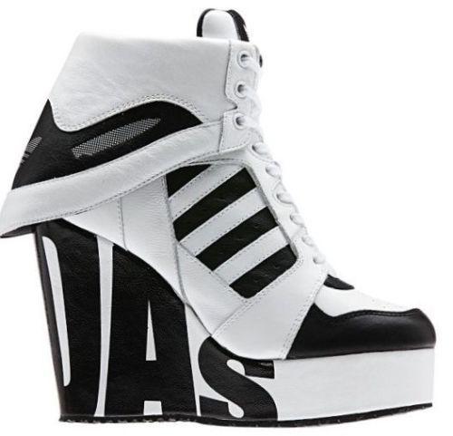 07ac30c19de3 New Womens Adidas Originals Jeremy Scott Streetball Platform Shoes sz 7.5  M29006  adidas  FashionShoes