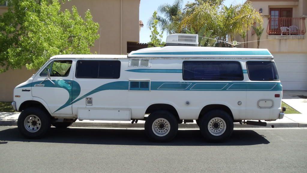 Dodge Tradesman Camper Van