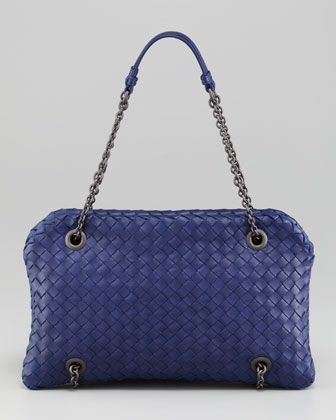 Intrecciato Chain-Strap Shoulder Bag by Bottega Veneta at Neiman Marcus.