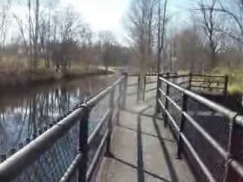 Discovering the Durhamville Aquaduct on the Old Erie Canal - YouTube