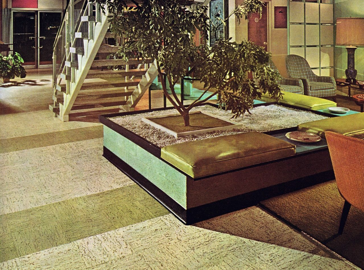 70s Decor Vintage Outdoor Planters Design Elements Modern Family Midcentury Modernism Blame