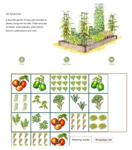 Free Online Garden Planners | Vegetable garden planner ...