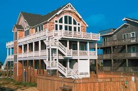 Monkey S Beach House Outer Banks Als Ocean Front Avon Nc Cape Hatteras 4200