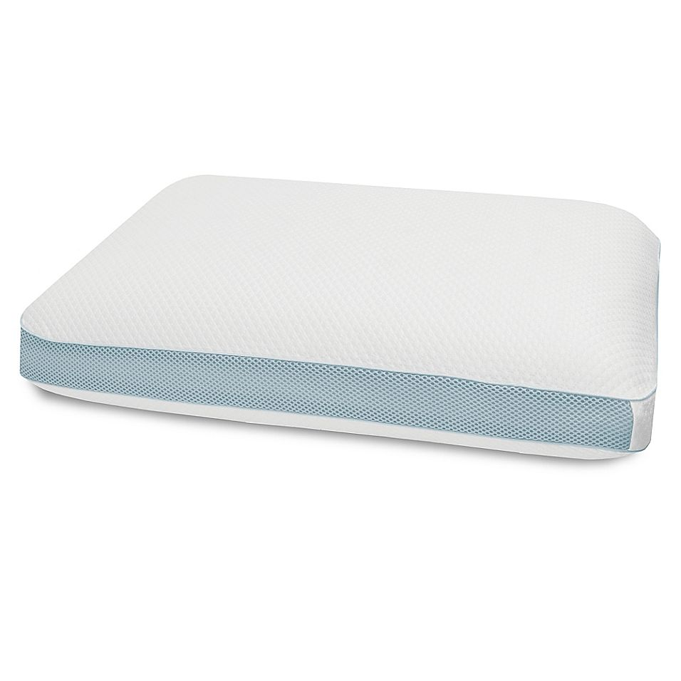 Therapedic Cool Vent Air Oversized Pillow In White Oversized