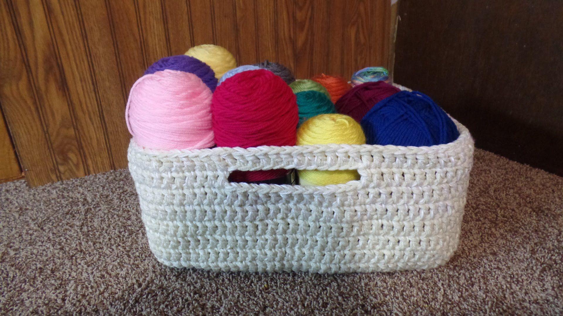 #Crochet Easy Large Multipurpose Basket #TUTORIAL