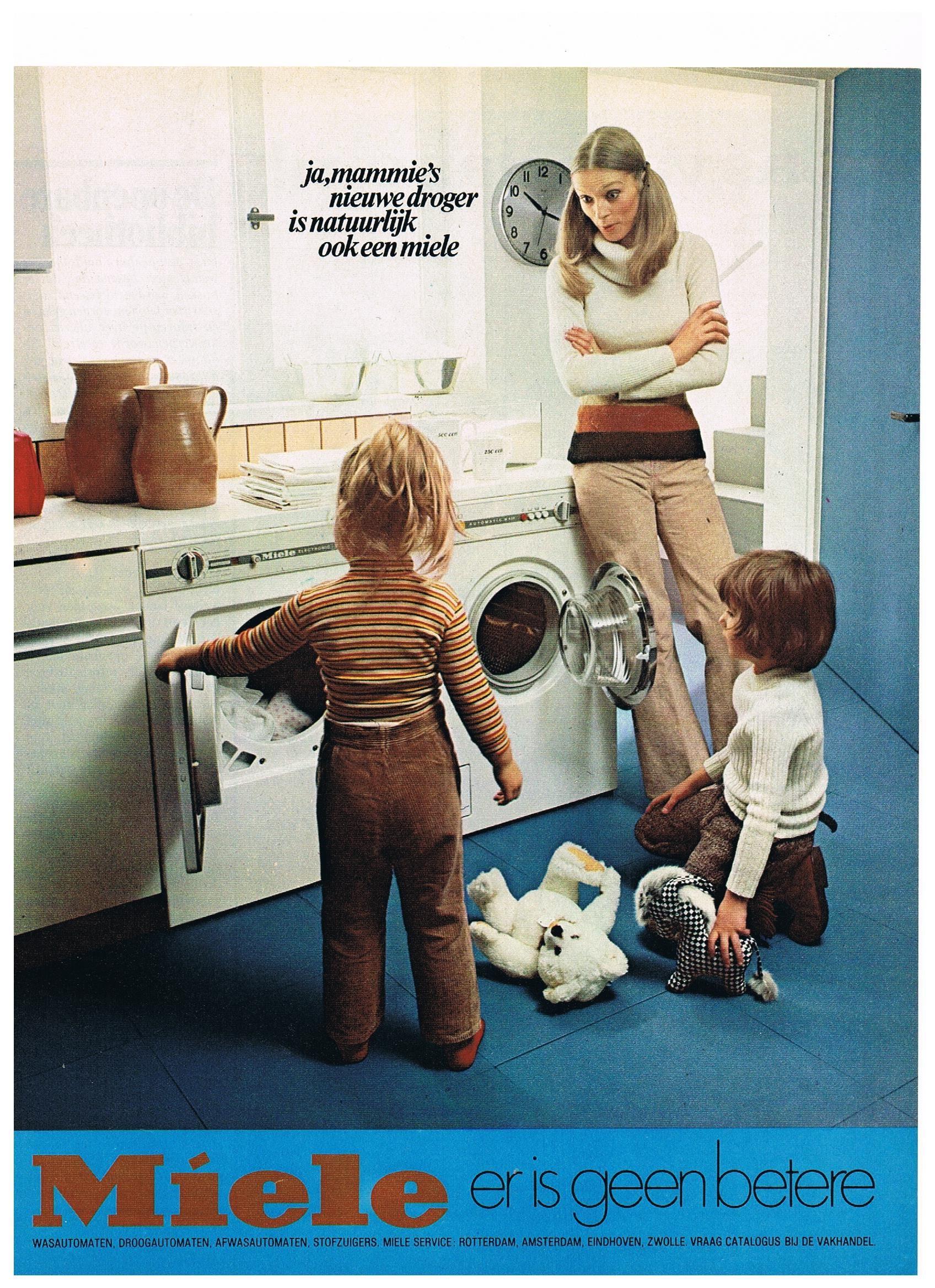 Miele 1970's vintage reclame