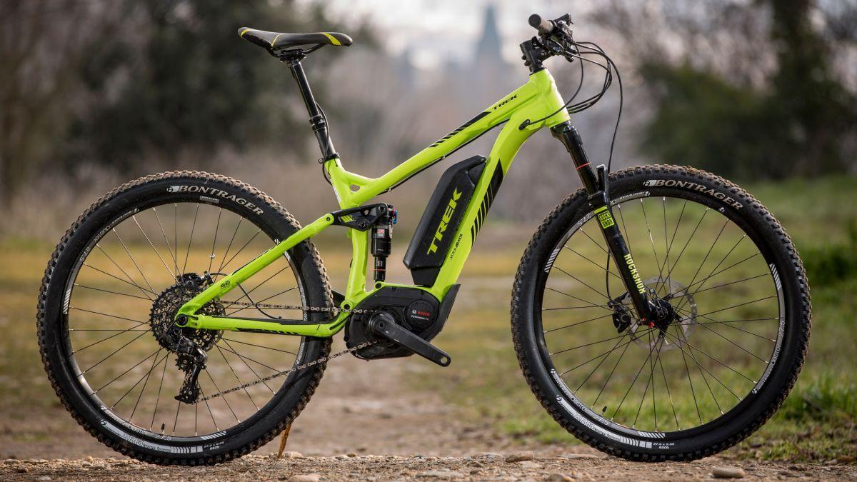 Trek Powerfly+ FS electric mountain bike first look