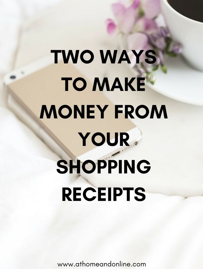 Money Receipts Two Ways To Make Money From Your Shopping Receipts  Extra Money And .