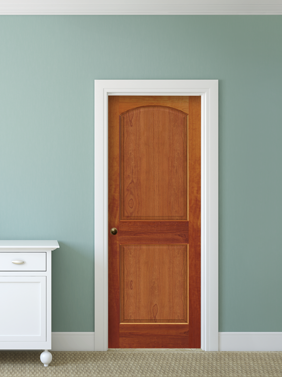 Add Charm To Your Home With Our Cherry 2 Panel Arch Raised Doors Made By  Mastercraft®