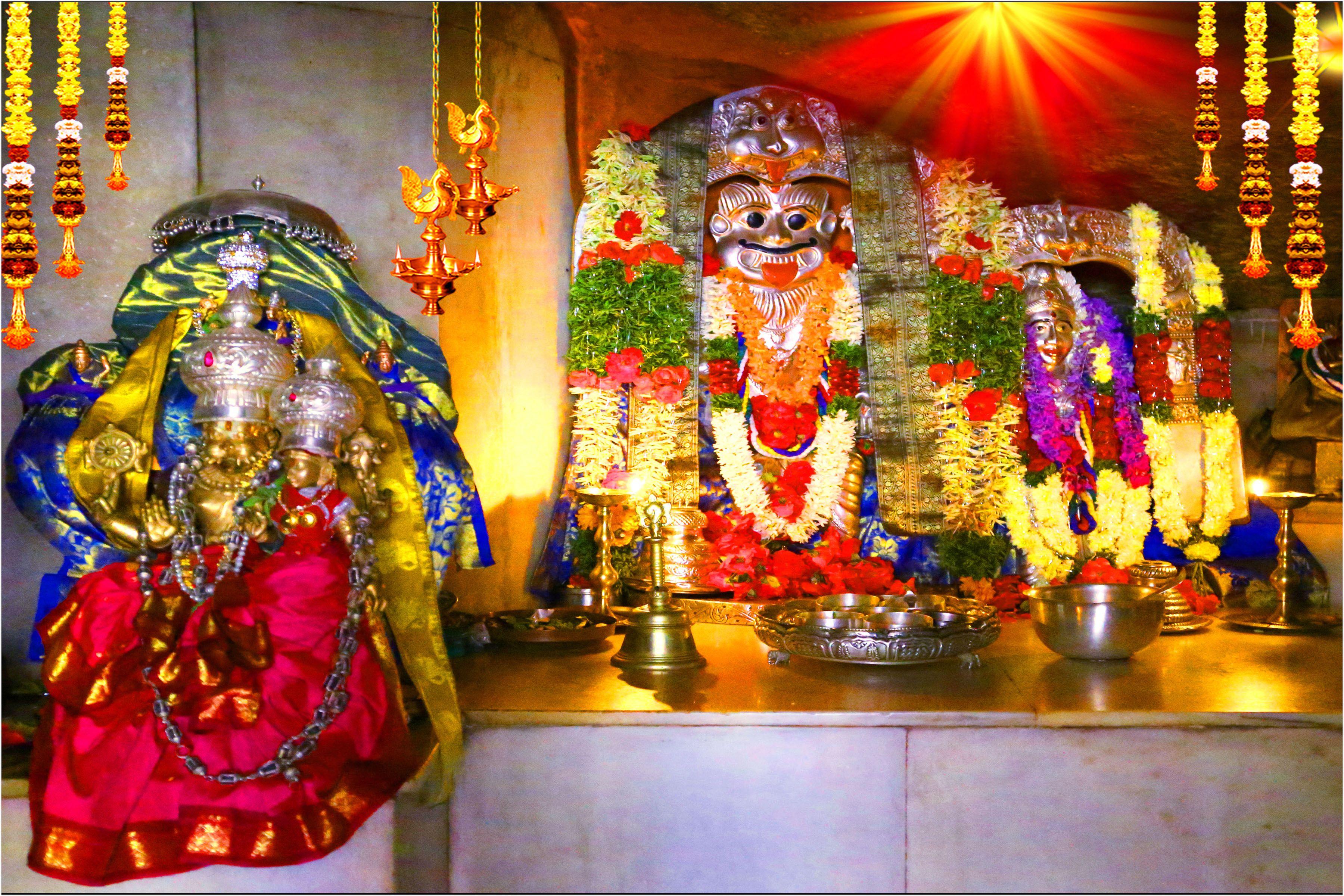 Sri Laxmi Narasimha Swamy Temple Nacharam Gutta | Krishna