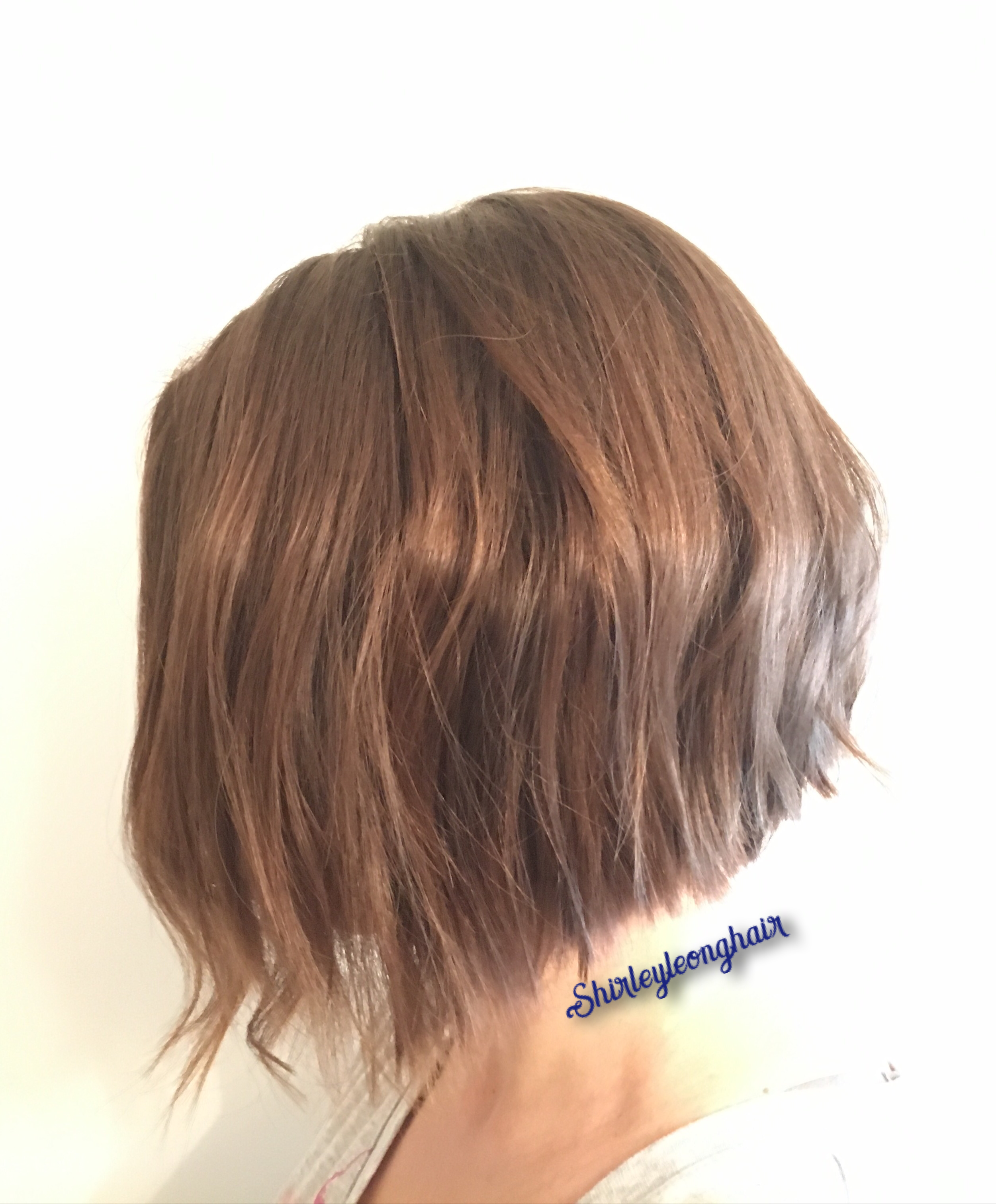 disconnected a-line bob | assymetrical haircuts in 2019