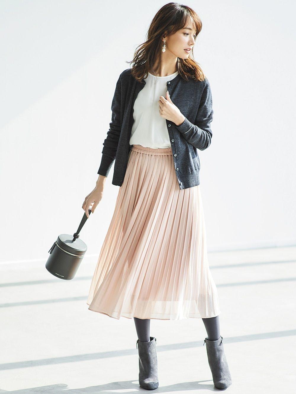 f4069a276 WOMEN HIGH WAIST CHIFFON PLEATED SKIRT | UNIQLO UK | Style ...