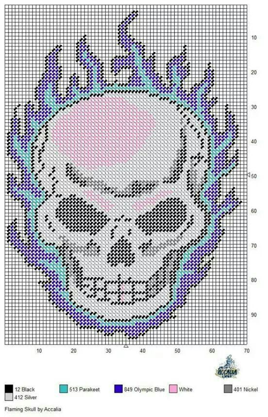 Free Printable Plastic Canvas Patterns Skulls Google Search Adorable Free Printable Plastic Canvas Christmas Patterns