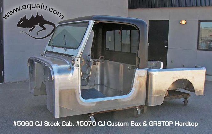 Aqualu Jeep CJ Stock Cab Jeep, Jeep cj, Jeep wrangler yj