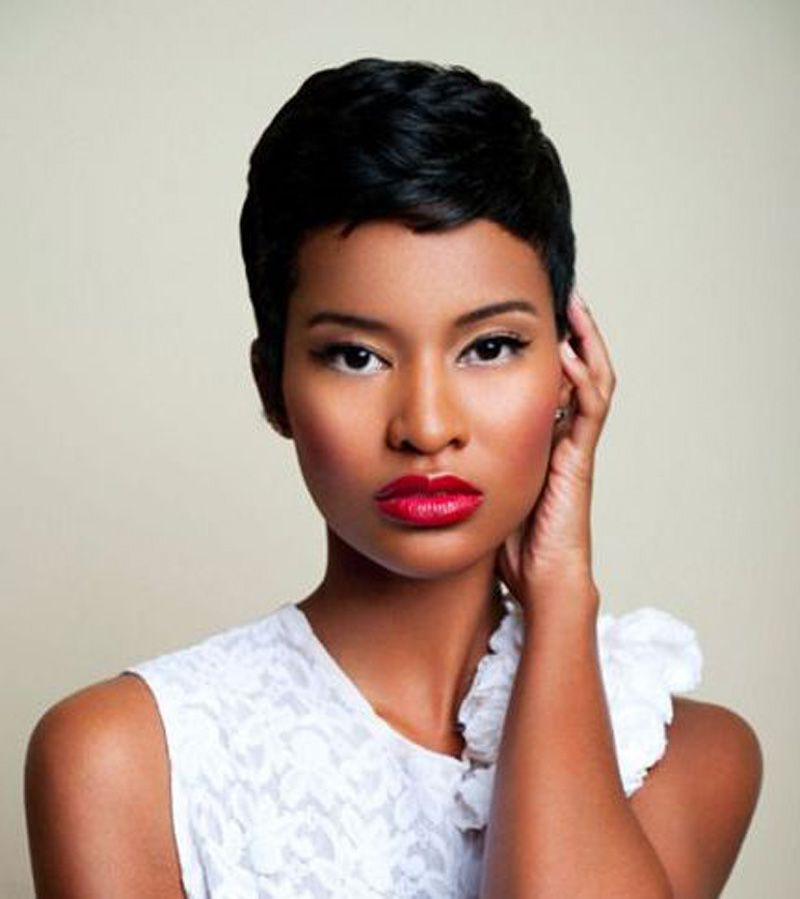 black women short haircuts 2014 using cute short