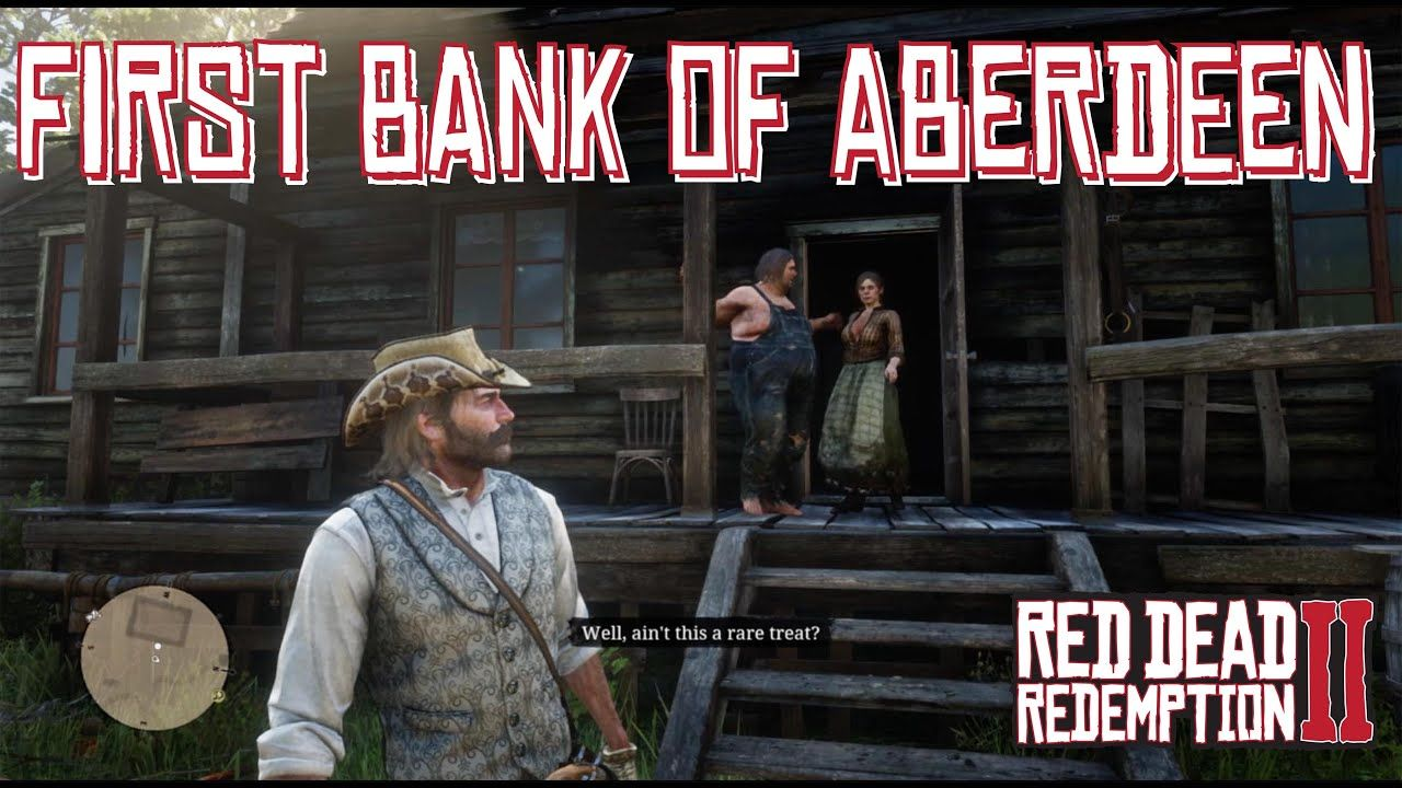 Arthur Leaves John All Of His Money At The Aberdeen Pig Farm In Red Dead Red Dead Redemption Dead Redemption