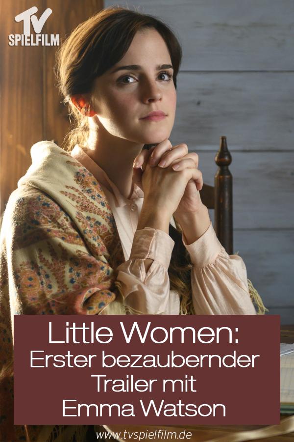 Little Women Ergreifender Erster Trailer Mit Harry Potter Star Emma Watson Emma Watson Emma Filme