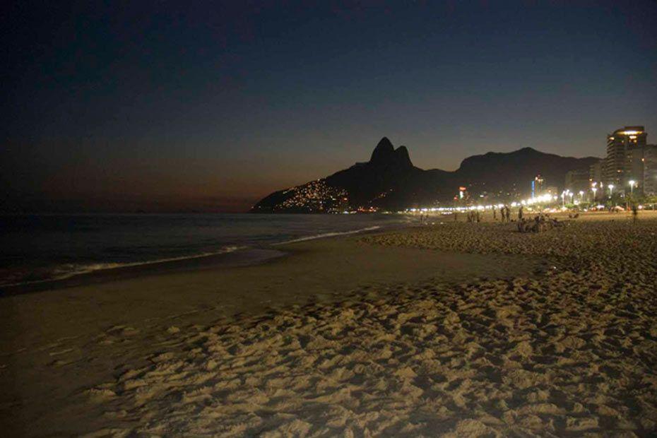 Río de Janeiro. Ipanema de noche
