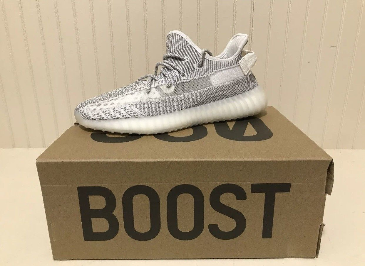 2593f2fb4b1 Kanye West Adidas Yeezy Boost 350 V2 Static Non Reflective DS US Mens Size 8   300.0
