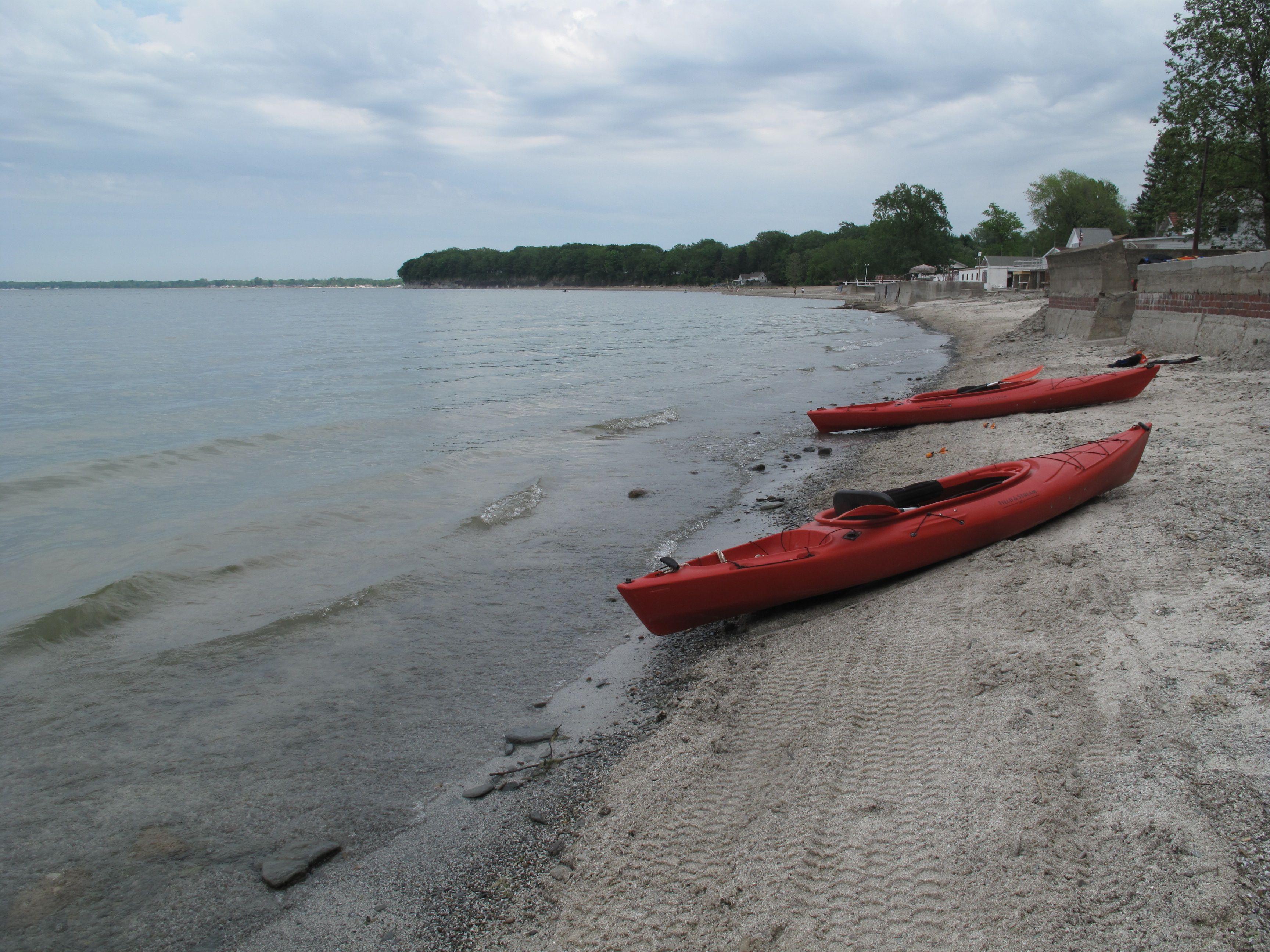 Lake Erie, Silver Creek, New York